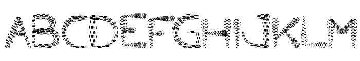 Little Ant Font UPPERCASE