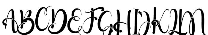 Little Betty Font UPPERCASE