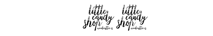Little Candy Shop Font OTHER CHARS