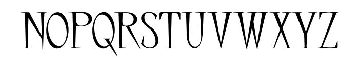 Little Carpenter Font UPPERCASE