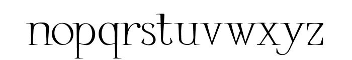 Little Carpenter Font LOWERCASE