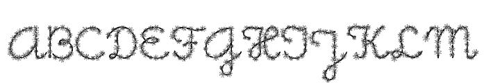 Little Daisy Font UPPERCASE
