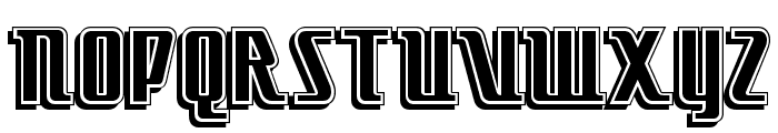 Little Deuce Coupe NF Font UPPERCASE