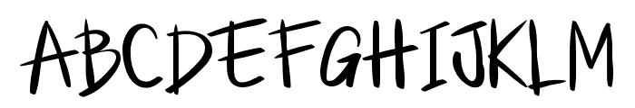 Little Jack Font UPPERCASE