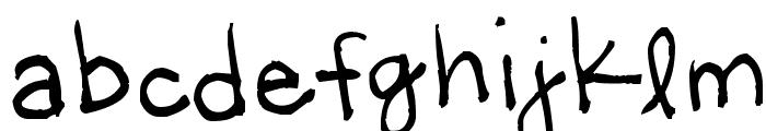 Little Miss Wonderful Font LOWERCASE