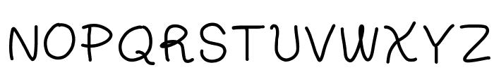 Little Picnic Font UPPERCASE