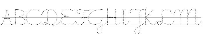 Little School 7 Font UPPERCASE