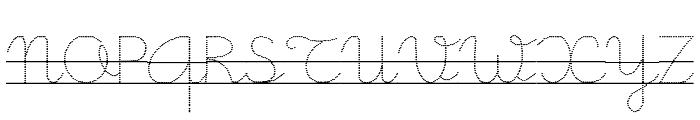 Little School 9 Font UPPERCASE
