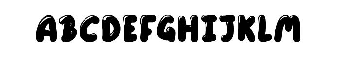 Little Sweet Thing Regular Font UPPERCASE