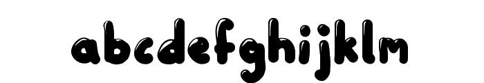 Little Sweet Thing Regular Font LOWERCASE