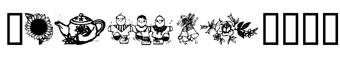 Little cuties Font OTHER CHARS