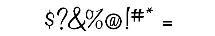 LittleBlackDress Font OTHER CHARS