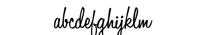 LittleBlackDress Font LOWERCASE