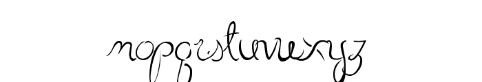 LittleBliss Font LOWERCASE