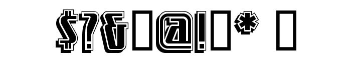 LittleDeuceCoupe Font OTHER CHARS