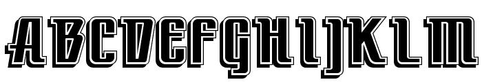 LittleDeuceCoupe Font UPPERCASE