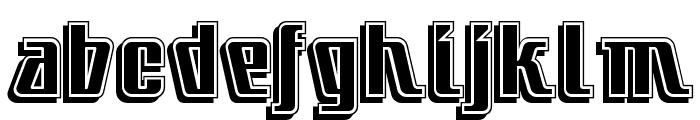 LittleDeuceCoupe Font LOWERCASE