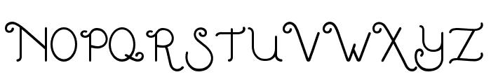 LittleEdellweiss Font UPPERCASE