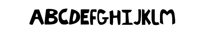 LittleEnvy Font UPPERCASE