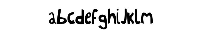 LittleEnvy Font LOWERCASE