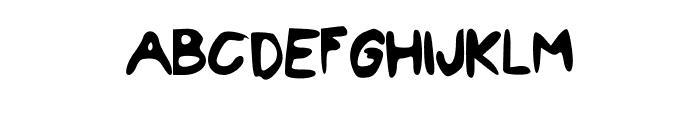 LittleMaven Font UPPERCASE