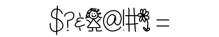 LittleMissPriss Font OTHER CHARS