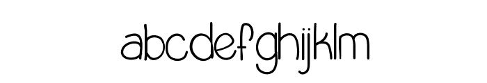 LittleMissPriss Font LOWERCASE