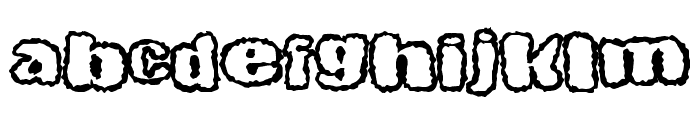 LittleSpooky Font LOWERCASE
