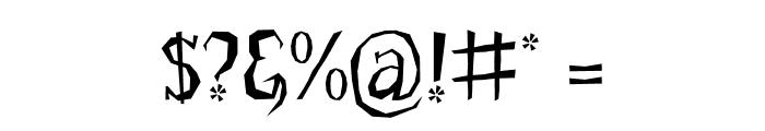 LittleTroubleGirlOT Font OTHER CHARS