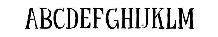 LittleTroubleGirlOT Font UPPERCASE