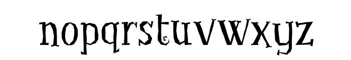 LittleTroubleGirlOT Font LOWERCASE