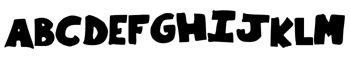 Little_Things Font UPPERCASE