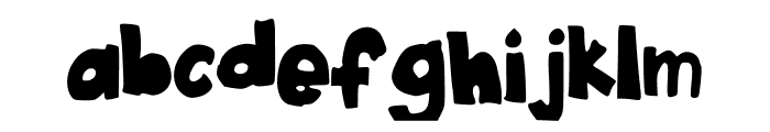 Little_Things Font LOWERCASE