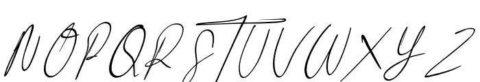 Littlehampton Font UPPERCASE