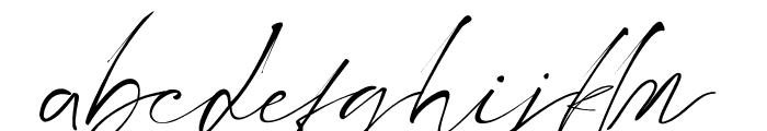 Littlehampton Font LOWERCASE