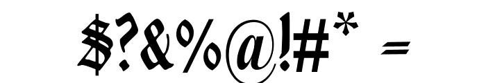 Liturgisch Font OTHER CHARS