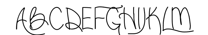 LiveLaughLove Font UPPERCASE