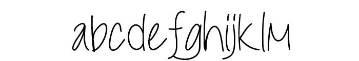 LiveLaughLove Font LOWERCASE
