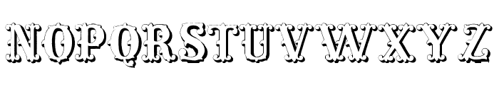Living in the Past Font LOWERCASE