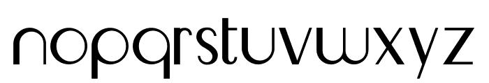 Livingston Sanserif Font LOWERCASE