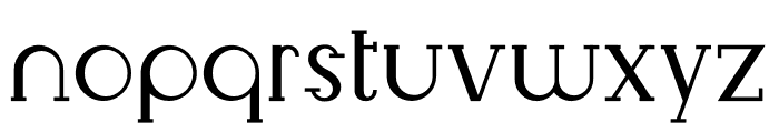 Livingston Serif Font LOWERCASE