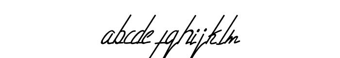 Livingston Signature Font LOWERCASE