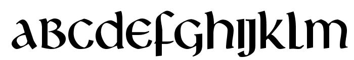 Livingstone Font LOWERCASE
