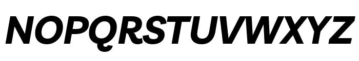 Livvic Bold Italic Font UPPERCASE