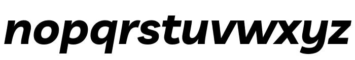 Livvic Bold Italic Font LOWERCASE