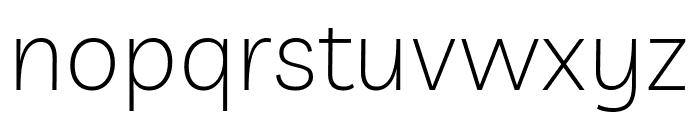 Livvic ExtraLight Font LOWERCASE