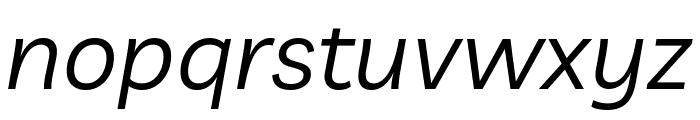 Livvic Italic Font LOWERCASE