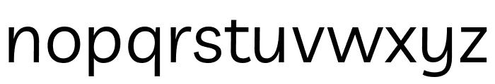Livvic Regular Font LOWERCASE