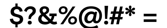 Livvic SemiBold Font OTHER CHARS