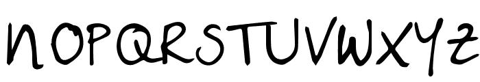 Livy'slife Font UPPERCASE